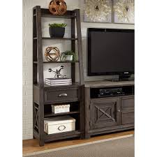 Pier One Bakers Rack Liberty Furniture Heatherbrook Entertainment Pier Unit With