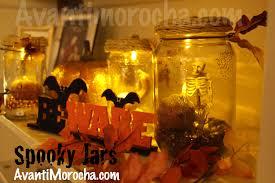 spooky jars frascos espeluznantes decoracion de halloween
