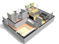 resultado de imagen para planos loft mini casa pinterest minis