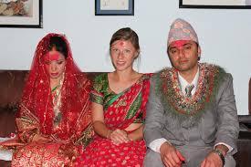 hindu wedding dress for guest hindu wedding celebration lise camilla in nepal