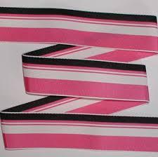 black and white striped ribbon licorice stripes grosgrain ribbon hot pink black white striped