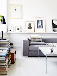 étagère derrière canapé canapé gris bo concept salon salle à manger