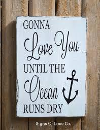 wedding signs beach wedding d礬cor signs anchor sign nautical