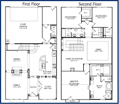 Two Floor House Plans One And A Half Story House Plans Codixes Com Amazing Corglife 3