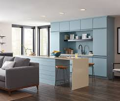 kitchen cabinets contemporary style contemporary aqua kitchen cabinets decora cabinetry