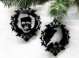 poe and cameo ornaments decoration