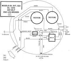 240 volt motor wiring diagram gooddy org