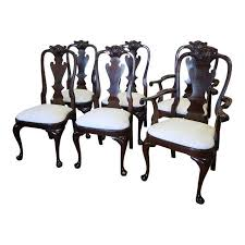 stickley mahogany dining table set 6 solid mahogany classics stickley furniture queen anne style