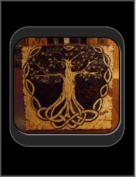 tree of life home decor hand made celtic knot tree of life pyrography tree of life art