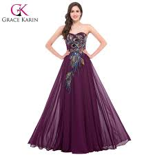 formal gowns grace karin peacock prom dresses 2017 new arrival formal