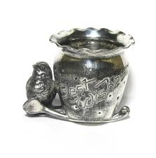 antique derby silver co best wishes silver plated toothpick