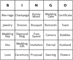 bridal shower gift bingo bridal shower bingo by bingo card template