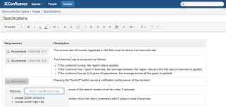 reporting requirement template how to manage requirements in jira and confluence insert requirement