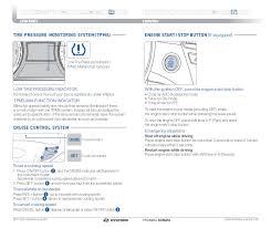 hyundai sonata malfunction indicator light 2011 hyundai sonata quick reference guide glenbrook hyundai happy
