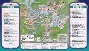 Magic Kingdom Disney World Map Walt Disney World U0027s Mickey U0027s U201cnot So Scary U201d Halloween Guide Map