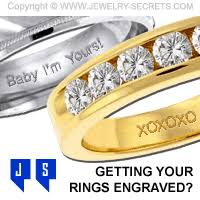 engraving on wedding rings what should you get engraved in your ring jewelry secrets