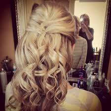 wedding half updo hair styles pinterest wedding half updo