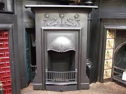 art nouveau cast iron fireplace emsworth 150mc old fireplaces