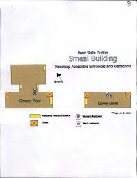 Penn State Parking Map Accessibility Maps And Parking Penn State Dubois
