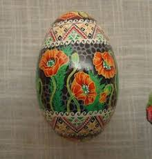 decorated egg shells decoration and gift goose egg pysanka egg shells egg and easter