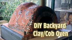 build your own backyard clay oven youtube