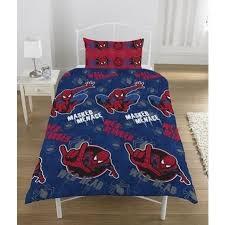 Spiderman Double Duvet Childrens Kids Boys Spiderman Duvet Quilt Cover Bedding Set