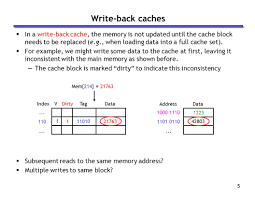 Direct Mapped Cache 1 Caches Concepts Review What Is A Block Address U2014why Not