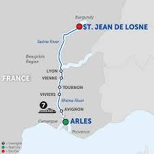Map Of Burgundy France by Burgundy U0026 Provence Jazz River Cruise U2013 Avalon France
