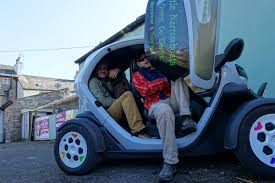 renault twizy blue how many welsh cakes can you fit in a renault twizy the pizza bike