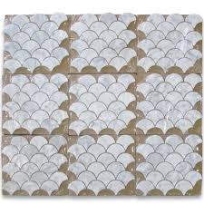 Fish Tiles Kitchen Stupendous Fish Scale Tile Backsplash 41 Fish Scale Tile Kitchen