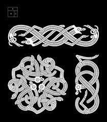 the anatomy of viking the broa style celtic