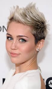 whats the name of the haircut miley cyrus usto have miley cyrus platinum blonde ombre short hairstyle pretty designs