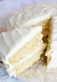 classic vanilla cake pairs fluffy vanilla cake layers