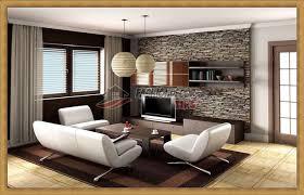 Wallpaper For Living Room  Stone Wallpaper For Living Room - Living room wallpaper design