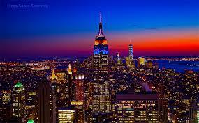 empire state building lights tonight esb sports knicks team colors inga s angle