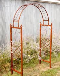 choose your width for wide skyview arch flower trellis