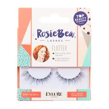 rosie bea flutter black false lashes claire u0027s