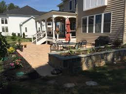 Backyard Grill Chantilly by Porches Porticos Pavilions U0026 Gazebos American Exteriors U0026 Masonry