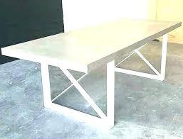 concrete top outdoor table cement top outdoor table cement top outdoor table large size of