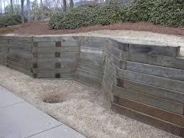 Concrete Block Garden Wall by Garden Walls Design Ideas Imanada Unique Wood Material For