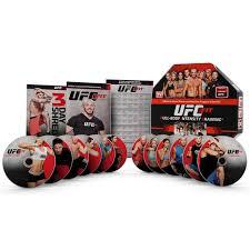 ufc fit 12 week home training fitness exercise program dvd set