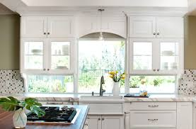 Kitchen Cabinet Valances See Through Kitchen Cabinets Transitional Kitchen Brittney