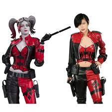 deathstroke halloween costumes aliexpress com buy xcoser harley quinn costume injustice 2