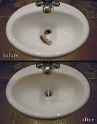 how to unclog your sink how to un clog your bathroom sink a clean bee with unclog