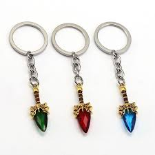 crystal key rings images Dota 2 keychain aghanim 39 s scepter key chain 3 color crystal key jpg