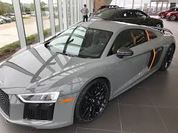 Audi R8 Grey - audi r8 plus quantum 1 of 25