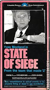 the state of siege amazon com state of siege vhs yves montand renato salvatori