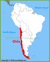Map Of Workd Chile Location On The South America Map Best Of World