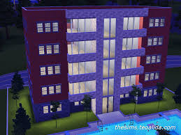 Sims 3 Apartment Floor Plans by The Sims 3 Apartment Block The Sims Fan Page