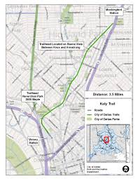 Dallas Map by Major Linear Trails Dallas Parks Tx Official Website